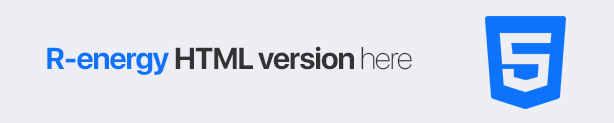 renergy - html template version