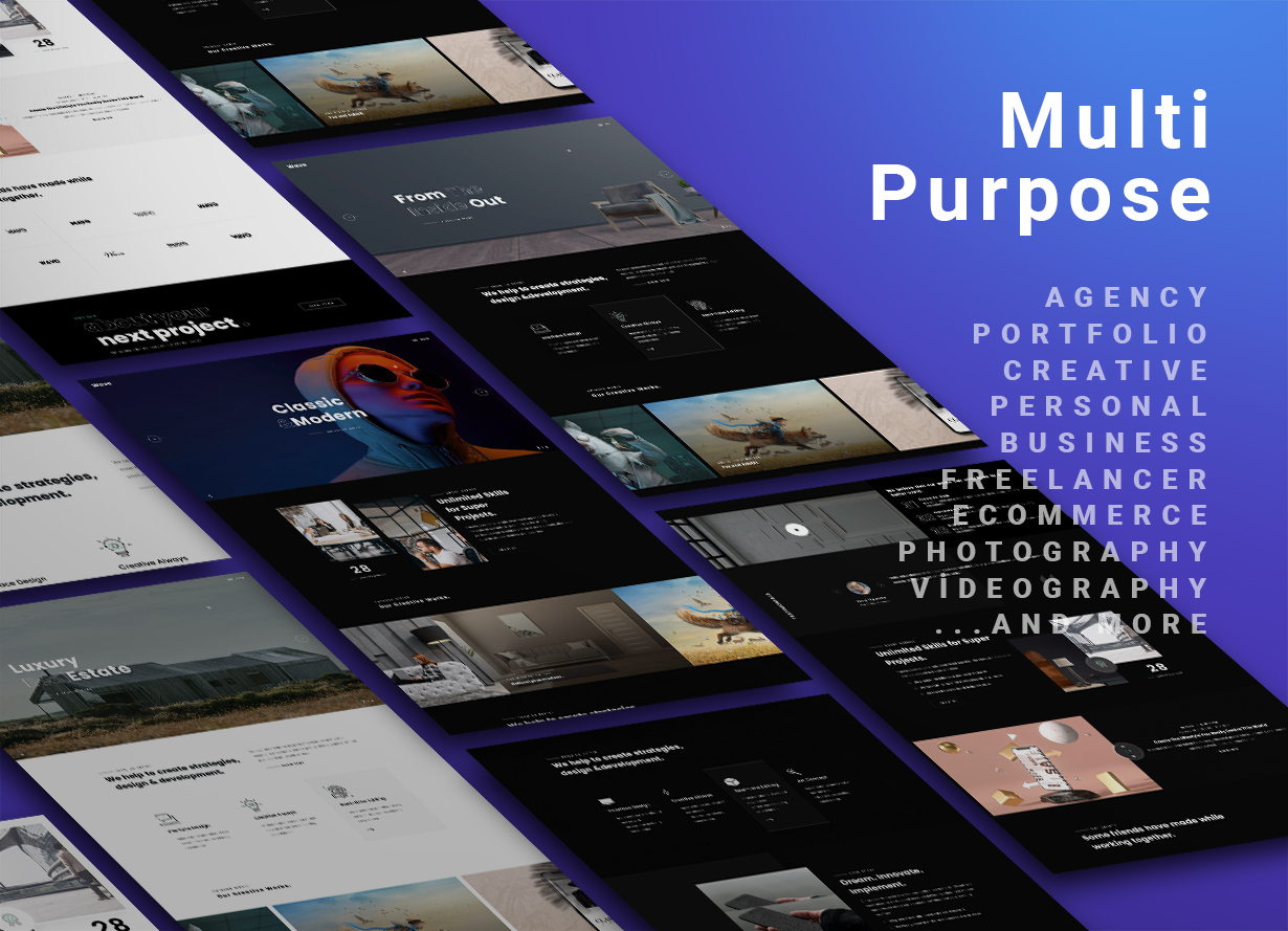WordPress Multipurpose agency Theme for Elementor Free and Elementor Pro