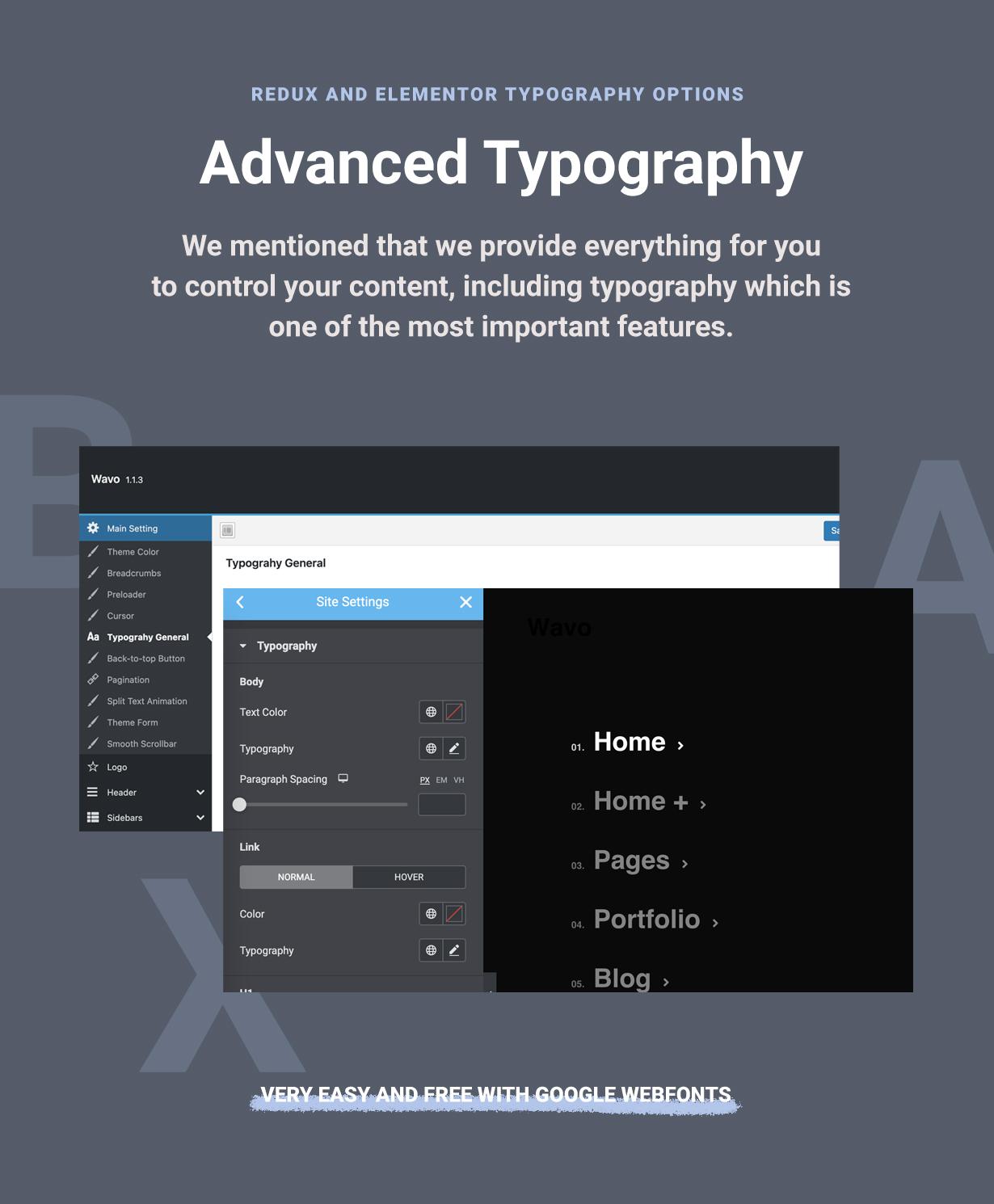 Best Rated WordPress Elementor Typography
