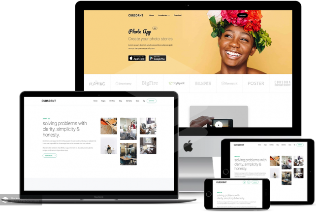 Cursornt – Multi Purpose WordPress Theme