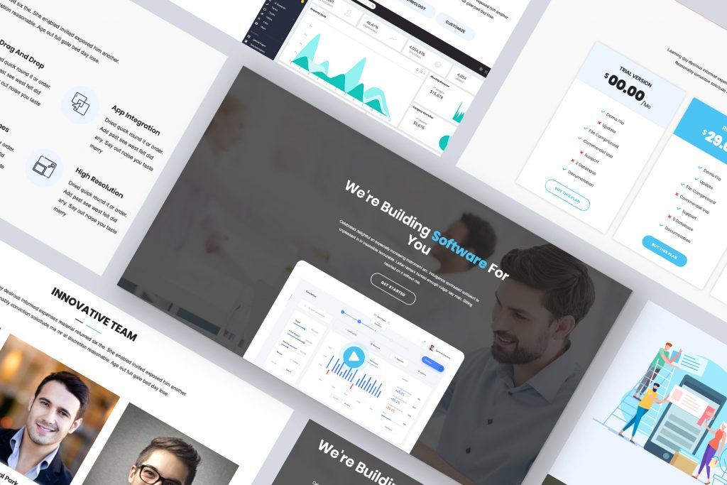 softing-envato-elements-theme-preview