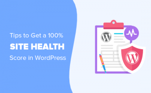 wordpress site health check
