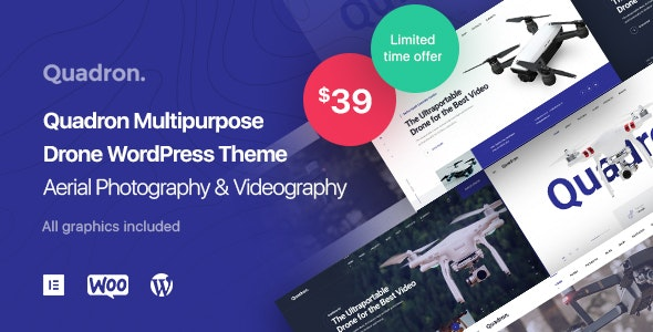 WordPress drone theme