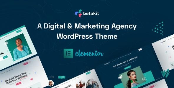 Betakit - Digital & Marketing Agency Theme