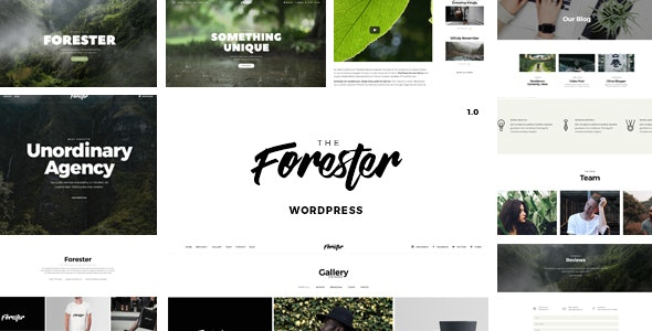 The Forester – Best Rated Creative WordPress Portfolio Theme