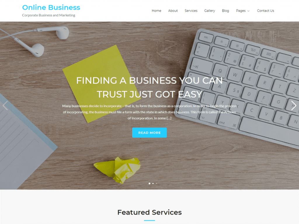 onlinebusiness-entertainment-theme