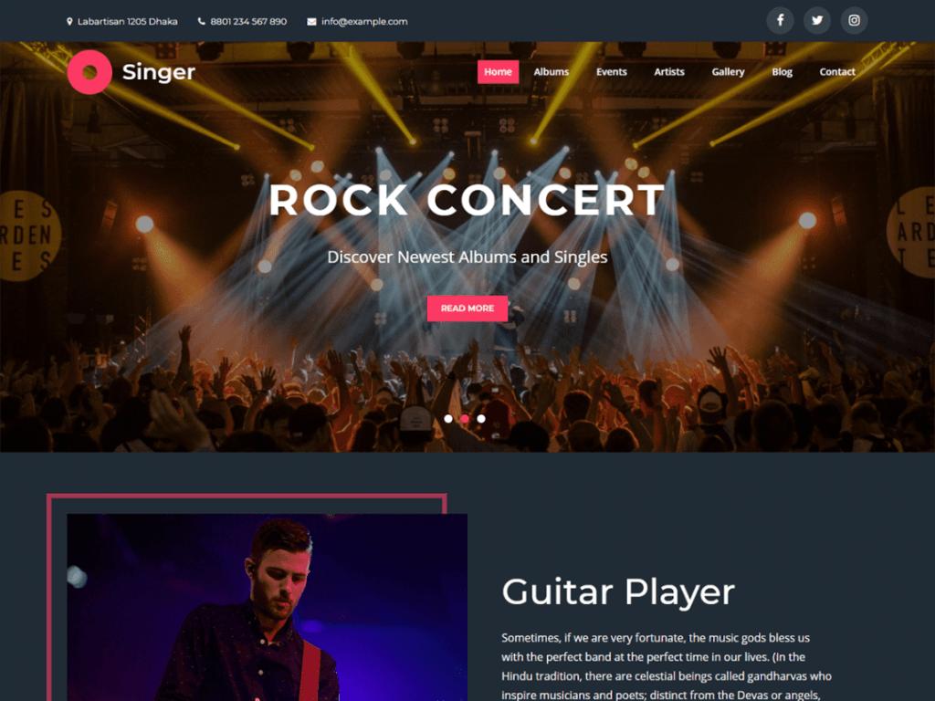 singer-entertainment-themes