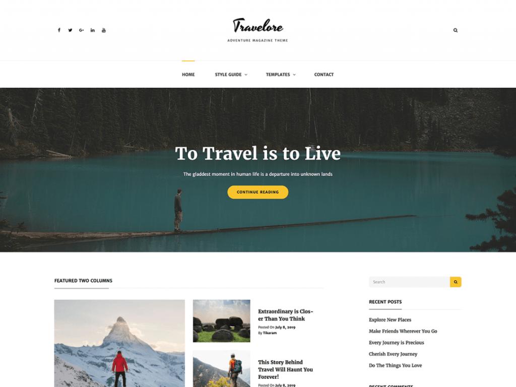 travelore-entertainment-theme