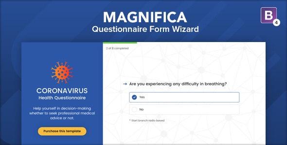Magnifica - Questionnaire Form Wizard
