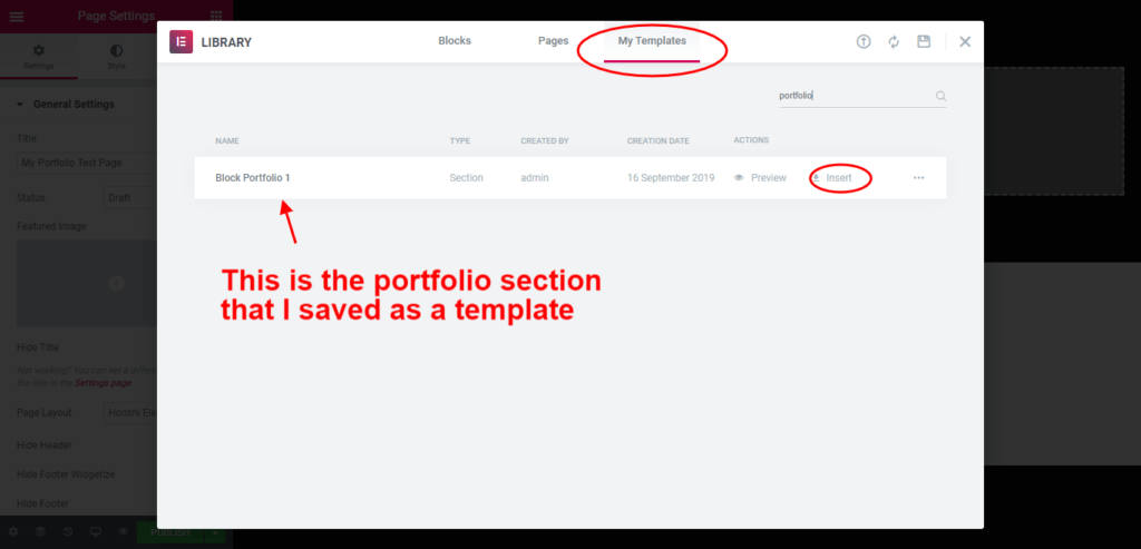 Elementor Themes Documentation
