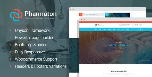 Pharmaton - Coronavirus Medical and Pharmacy WordPress Theme