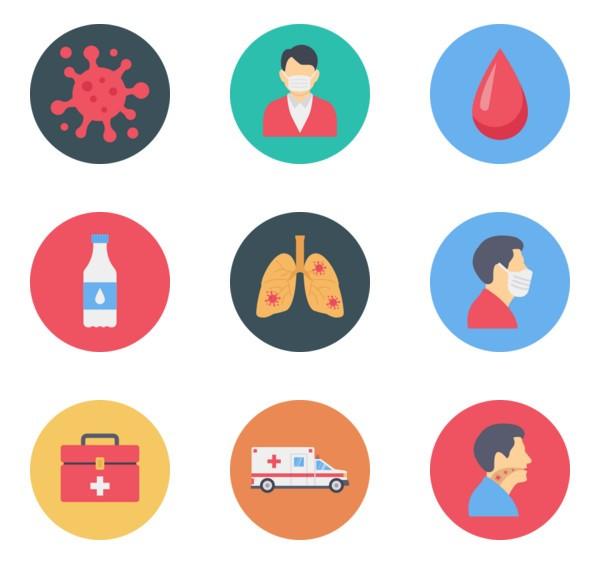 Coronavirus Icon Packs