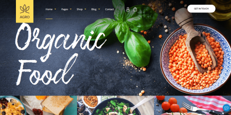 Recommended Organic Food & Agriculture WordPress Theme