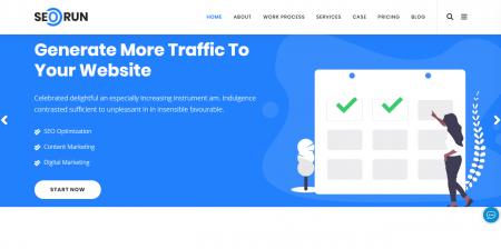 Best Rated SEO Agency WordPress Theme