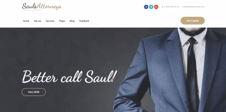 Best Rated Lawyer & Attorney WordPress Theme