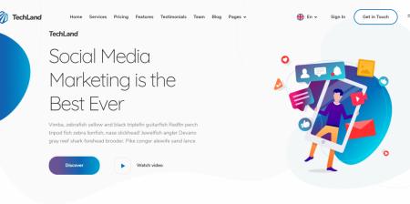 Best rated WordPress Saas Startup Theme