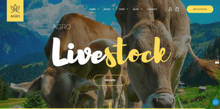 Best Rated Organic Food & Agriculture WordPress Theme