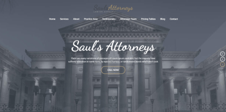 High Downloaded Lawyer & Attorney WordPress Theme