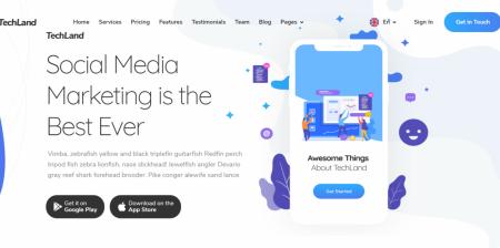 Best WordPress Saas Startup Theme
