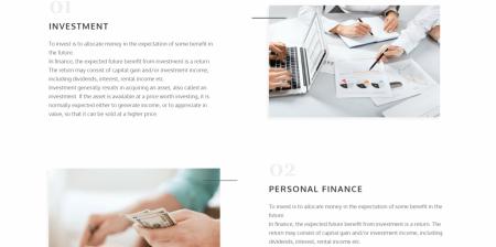 Popular Business and Financial WordPress Theme