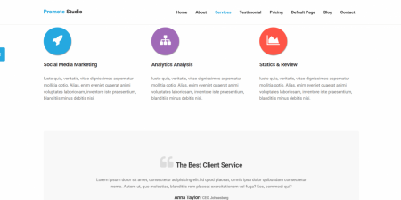 Recommended WordPress Marketing Theme