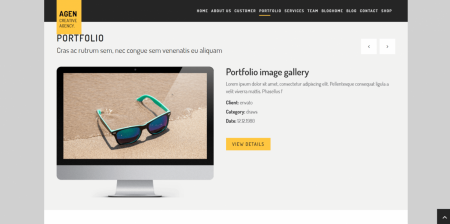 Recommended WordPress Boxed Creative Theme
