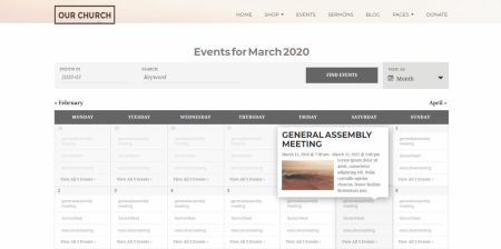 Recommended WordPress Churches Theme