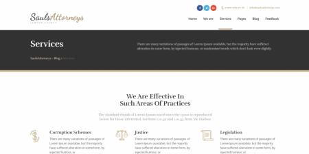 Best Lawyer & Attorney WordPress Theme
