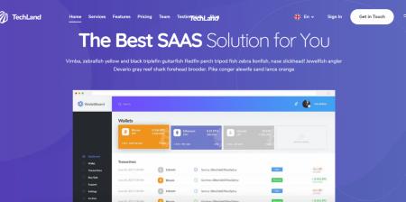 Newest WordPress Saas Startup Theme