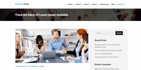 Newest WordPress Marketing Theme