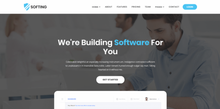 Best Rated WordPress Software Landing Page Theme