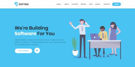 Best WordPress Software Landing Page Theme